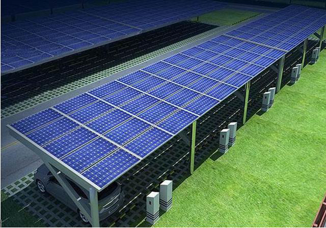 Cheap Newest design solar carport for automatic carFurite