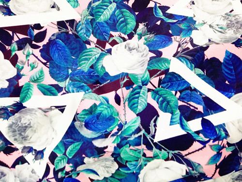 High Quality Customized Digital Printing Polyester Spandex Swimwear Knitted Fabric