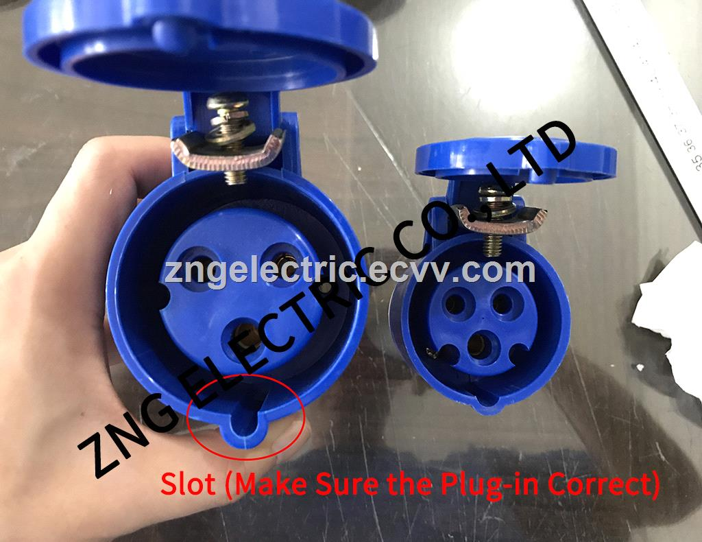 Industrial Connector 32A3P IP44 Splashproof