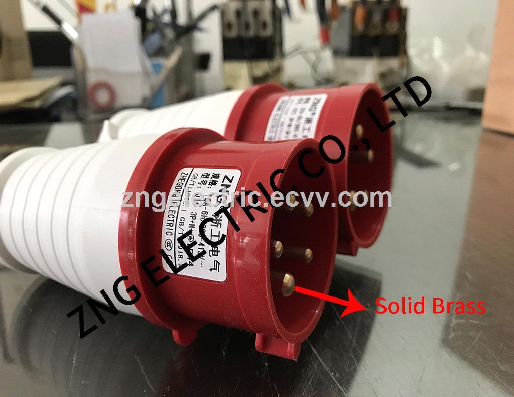 Industrial Plug 32A5P IP44 Splashproof