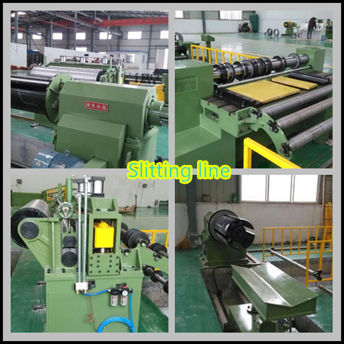 Automatic High Accurcy Slitting Line machine