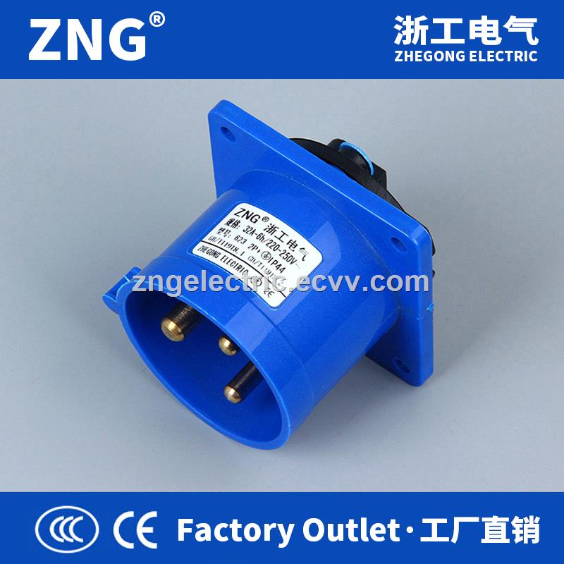 Reverse Plug Industrial 16A3P Wall Plug industrial 16A 2PPE