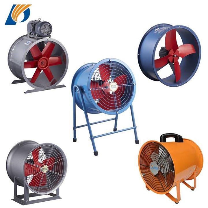 SHT series Anxial flow portable ventilatorair blowerventialtion fan CE