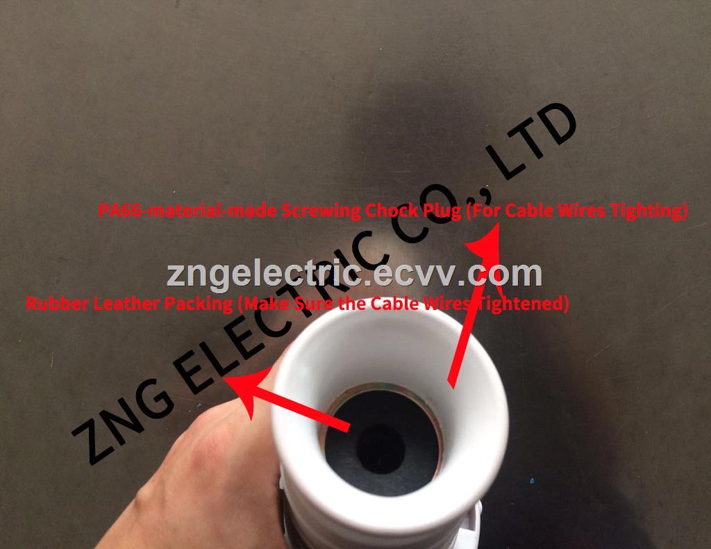 Waterproof IP67 Industrial Plug 63A 3PPE