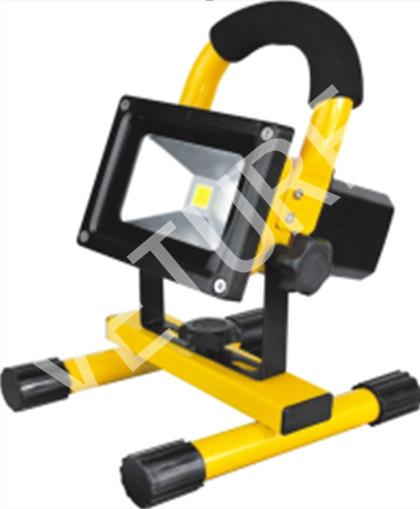 10W Portable LED Working Light Rechargeable Handheld LED Flood Light