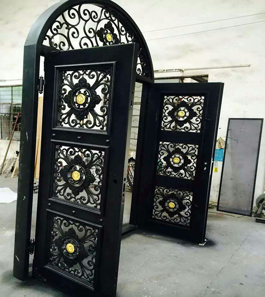 2Chinese factory fabricated iron doors EBD001Security steel doorCustomize metal doorsiron entry doorsentrance doors