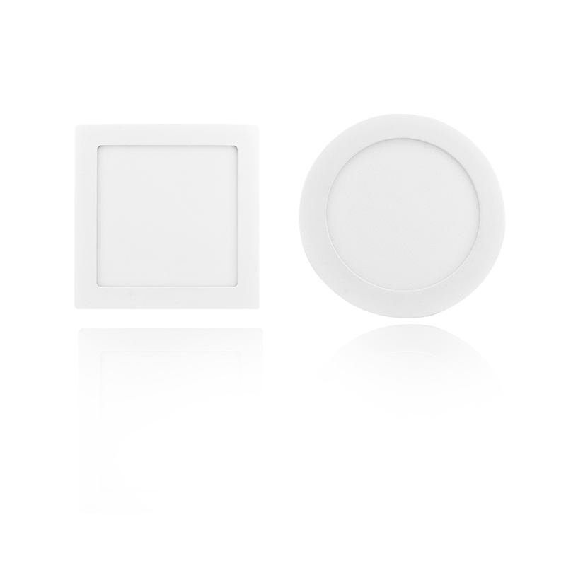 2018 Good Price Surface Mounted Panel Light 3W 6W 9W 12W 18W 20W Small Square Round Lamp