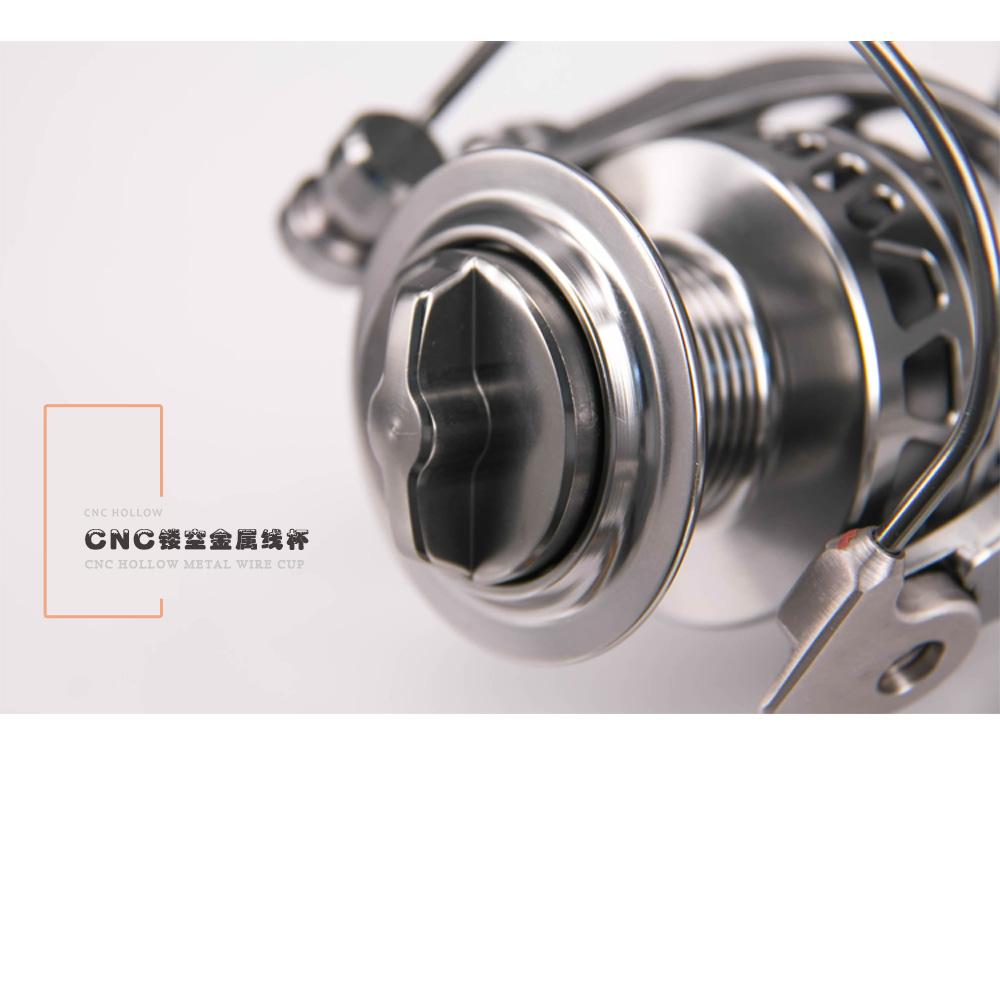 DEUKIO Fishing Reel Full Metal 111 BB Stainless Steel Spinning Fishing Wheel Tackle MC3000