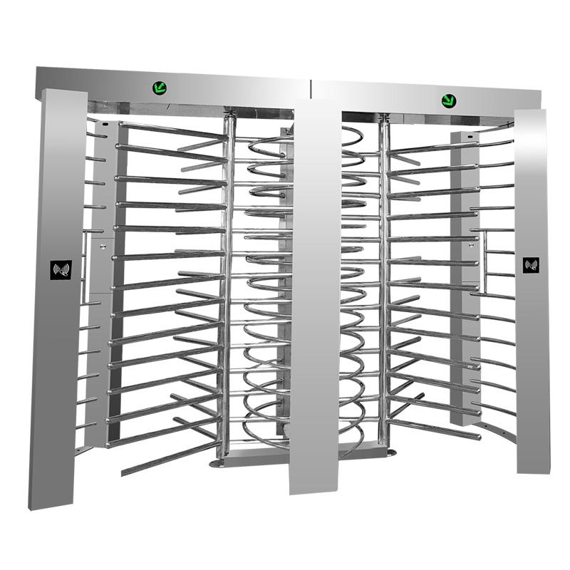 Bi directional RFID reader automatic barrier Full Height Turnstile
