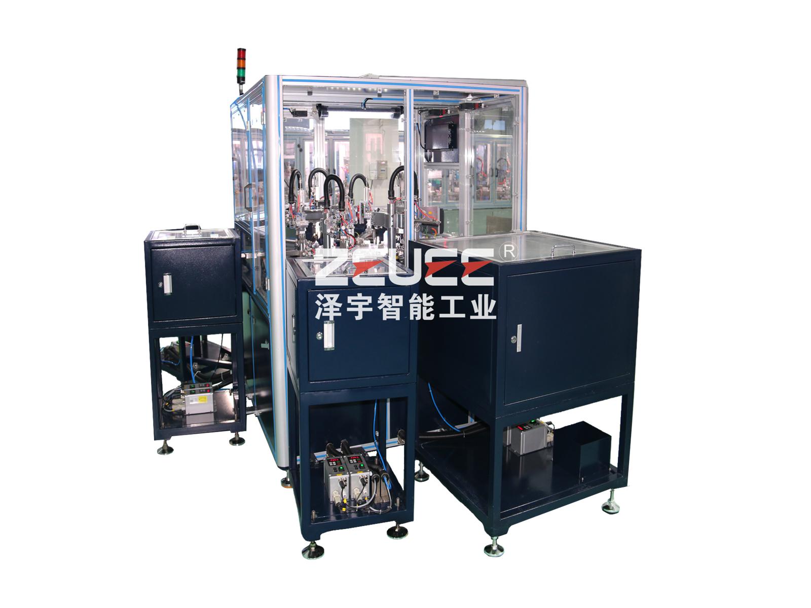 Shutter gear box automatic assembly machine
