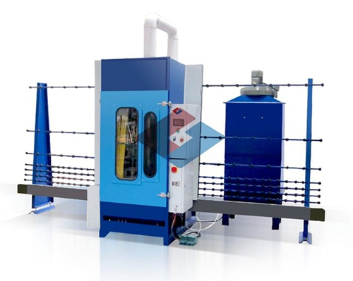 Automatic Vertical Glass Sand Blasting Machine