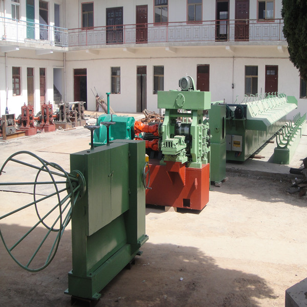 Cold rolled ribbed steel wire machine