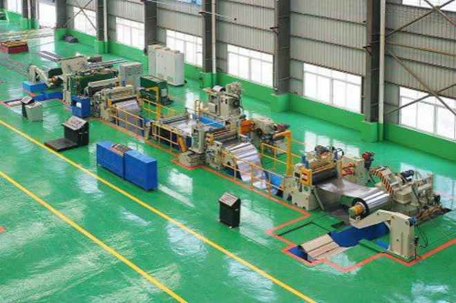 3 Cold rolledCR steel coil slitting and recoiling production line