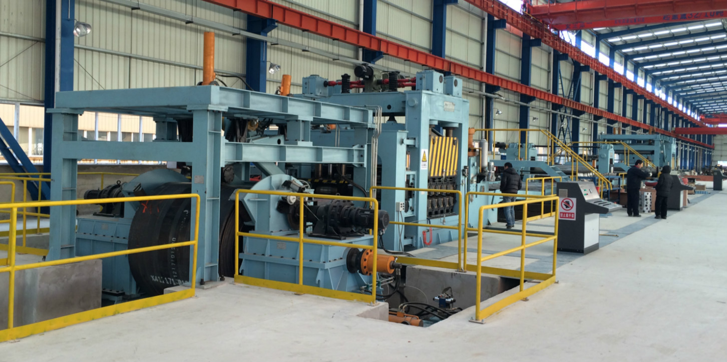 5 Hot rolledCR steel coil slitting and cutting to length line