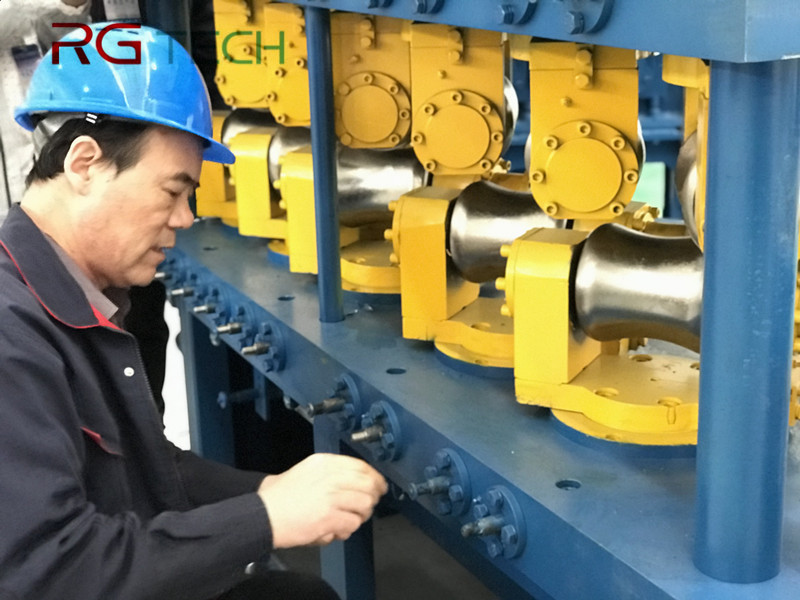 Two Roll Straightening Machine for Metal Bar