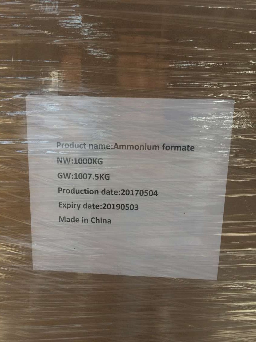 ammonium formate use food grade