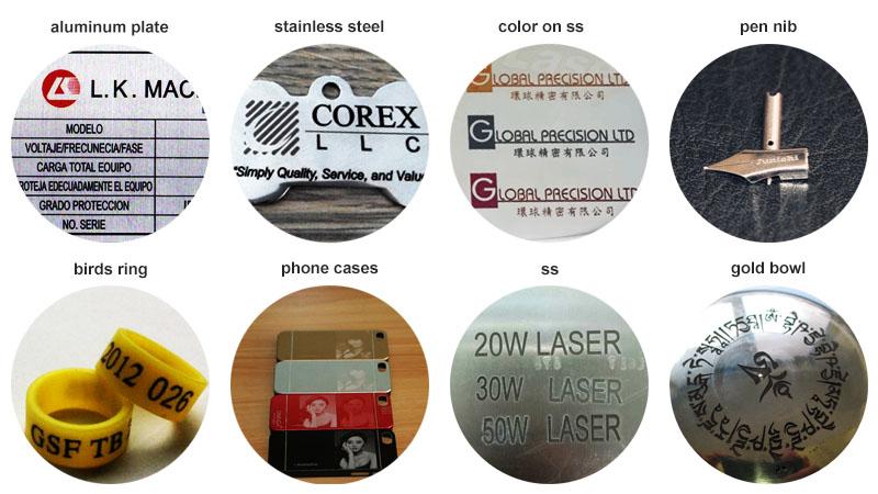 20W 30W 50W mini handheld fiber laser marking machine for sale