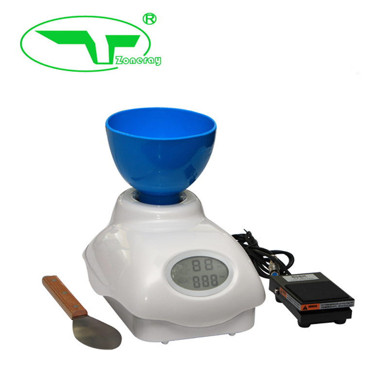 Professional Dental Instrument Alginate Mixer With Foot Control System