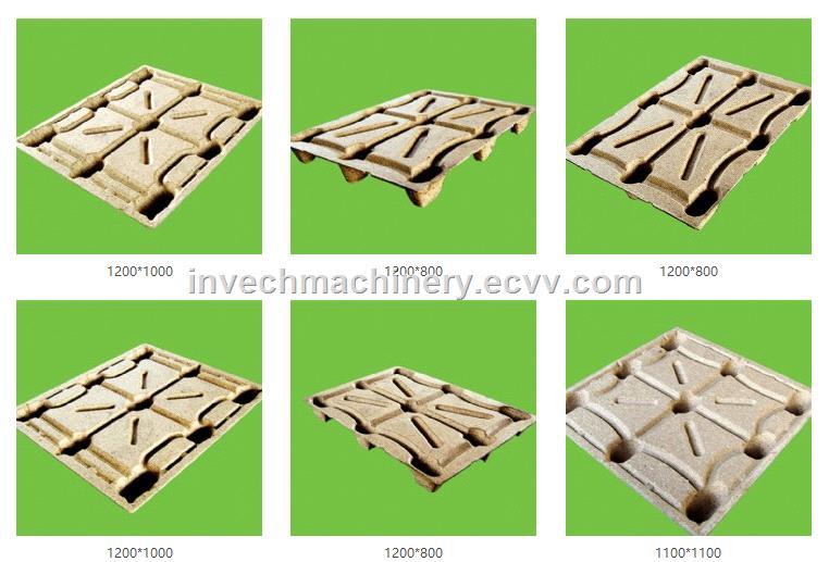 Hot Press Wood Sawdust Pallet Compressed Machine