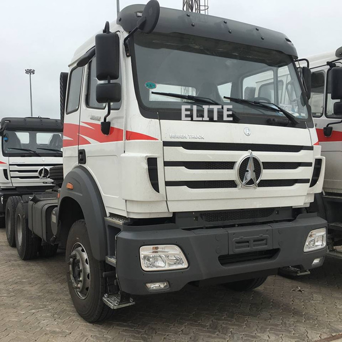 10 wheel trailer truck head Beiben 2638 6x4 380hp tractor truck