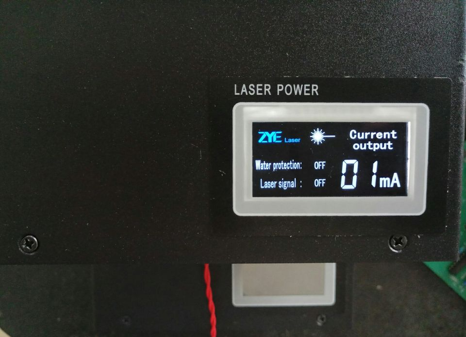 Digital 100W 150W LCD CO2 laser power supply smart laser power supply