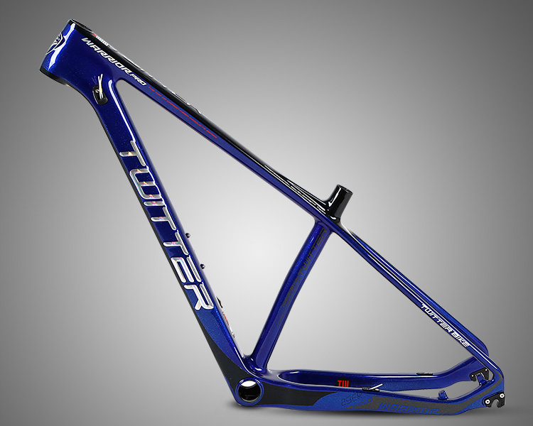 Direct Bike Factory accept small order 27529 TWITTER WARRIOR carbon mountain bike frame components bicycle parts