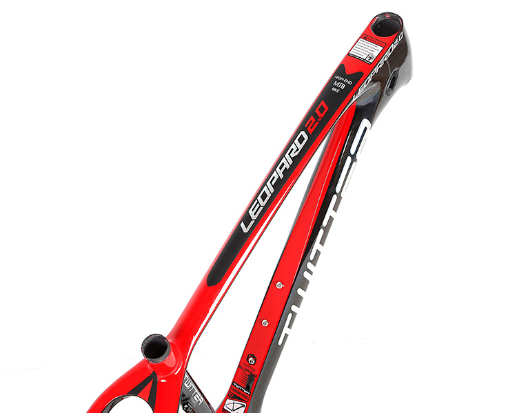 Direct bike factory China accept small order 26275TWITTER LEOPARD Carbon racing mountain bike frame