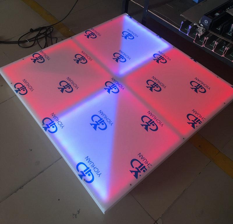 Hot 576pcs 15mm Thickness Disco LED Dance Floor28 Channel Dmx Dance Floor LED Display