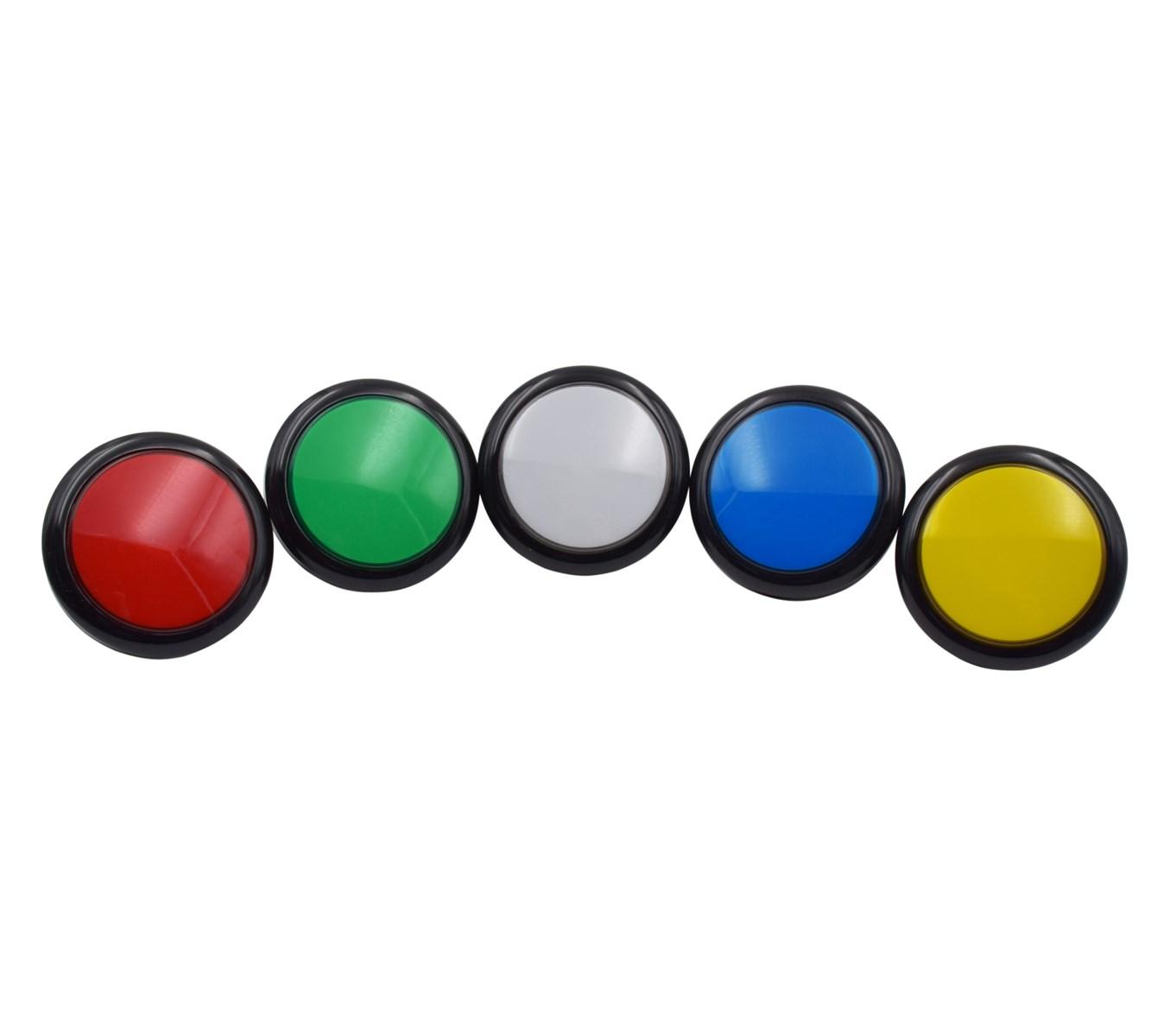flat top arcade ip67 slot machine 5v led 100mm led illuminated push button switch and switches