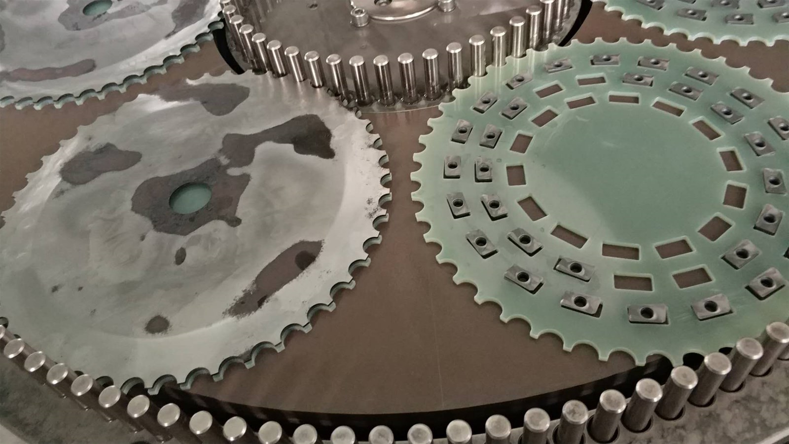 double disc Diamond CBN grinding wheels sets for end grinding machines
