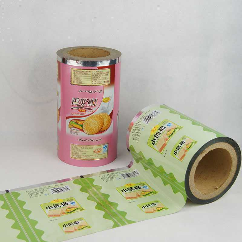 Biscuit packing film Packing film Food packing material