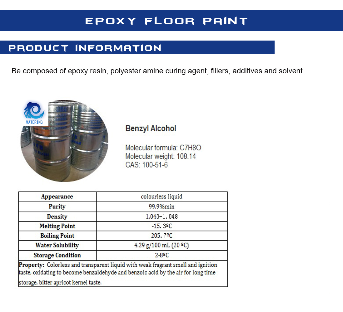 Factory directly Sell Industrial Grade Benzyl Alcohol CAS 100516