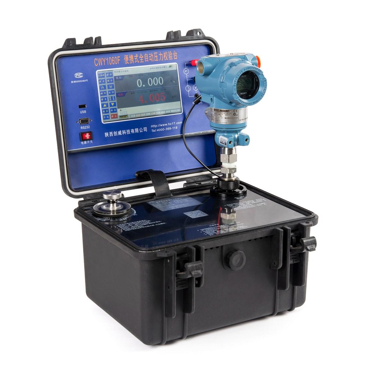 Automatic pressure calibrator with HART
