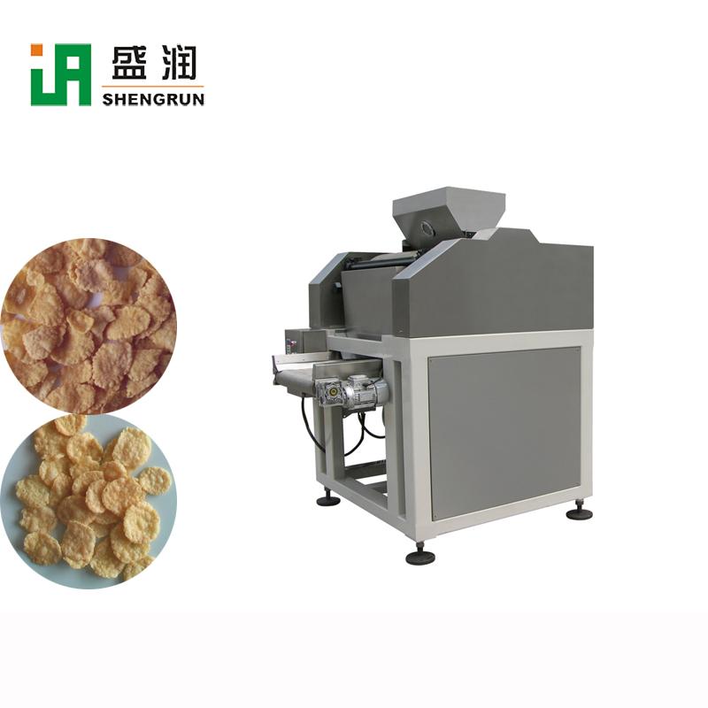 full automatic corn flakes machine