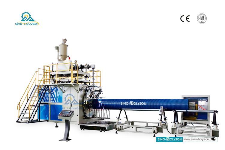 HSJ80mm HDPE Large Diameter Water Supply Pipe Making Machine
