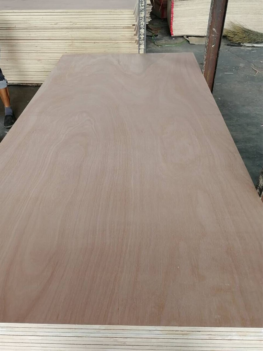 China ACEALL 4X8 Packing Furniture Bintangor Okoume Birch Pine Ash Red Oak Faced Commercial Plywood