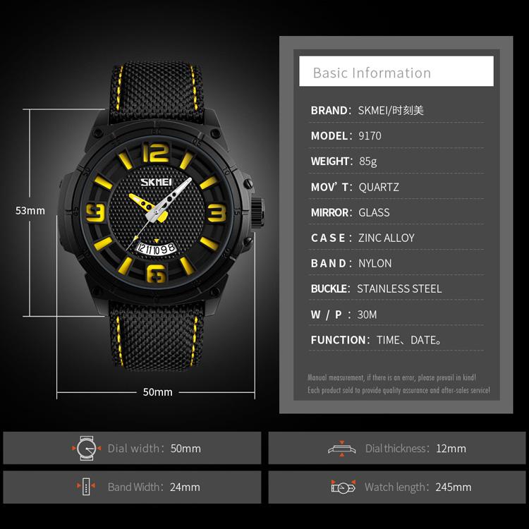 Hot product SKMEI Men Quartz Sport Promotional Watch