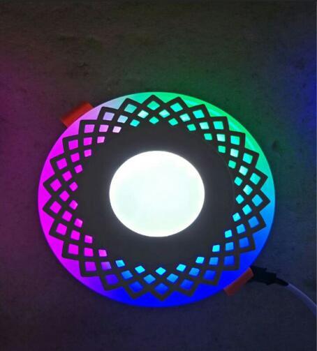double color led panel light 33W 63W 12W 186W