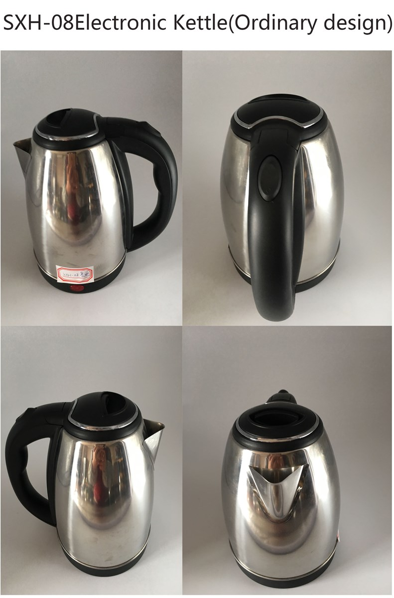 SXH08 With 70cm Power Cable Simple Design Stainless Steel Electronic Kettle 18L
