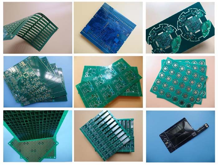 Singlesided flexible PCBs On Polyimide with 3M Tape