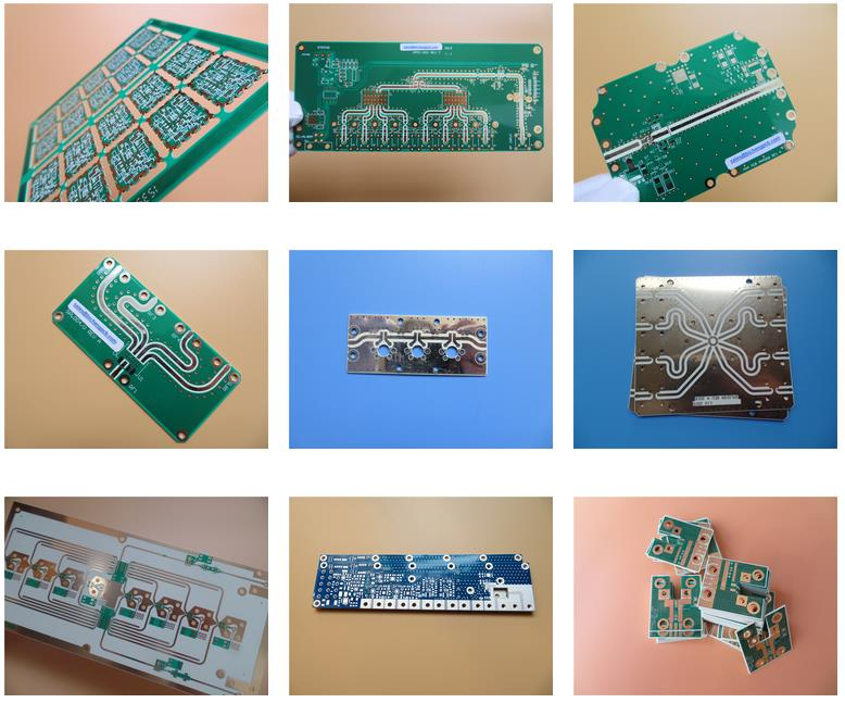 Teflon PCB Boards Built On 20mil RO4350B with Immersion Gold