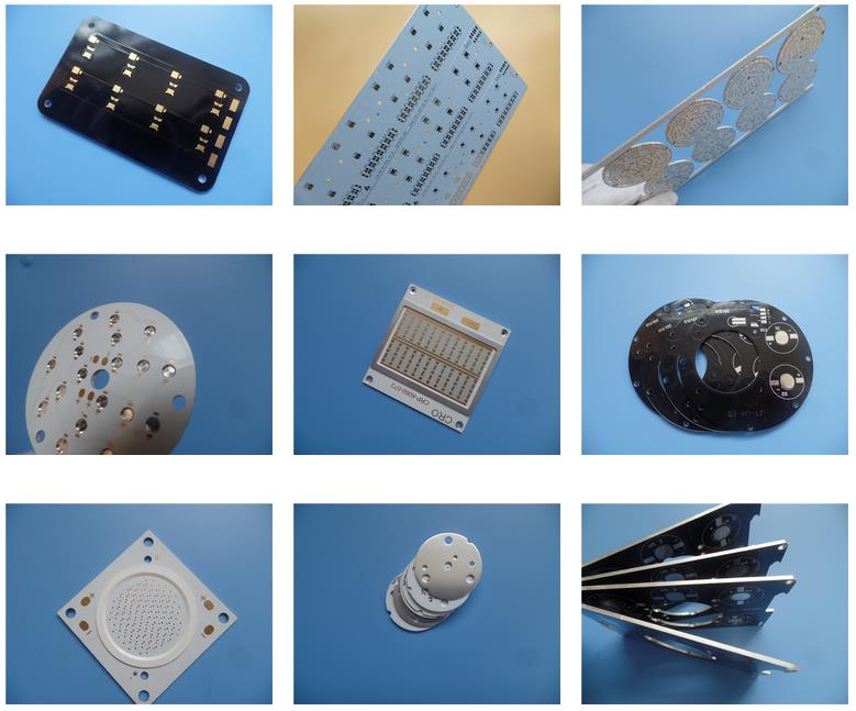 LED PCB Aluminum Circuit Board 2W MK for High Power LED