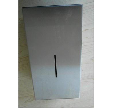 Silver Color Automatic Kitchen Towel Dispenser 304 Stainless Steel 10 x 10cm Paper Size