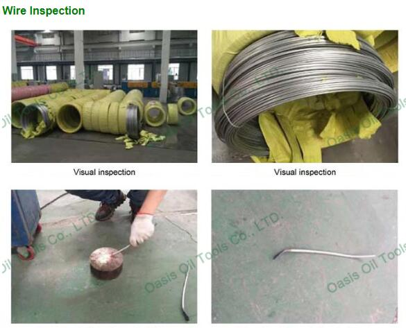 Continuous slot wire wrap rod base johnson water well screens pipe