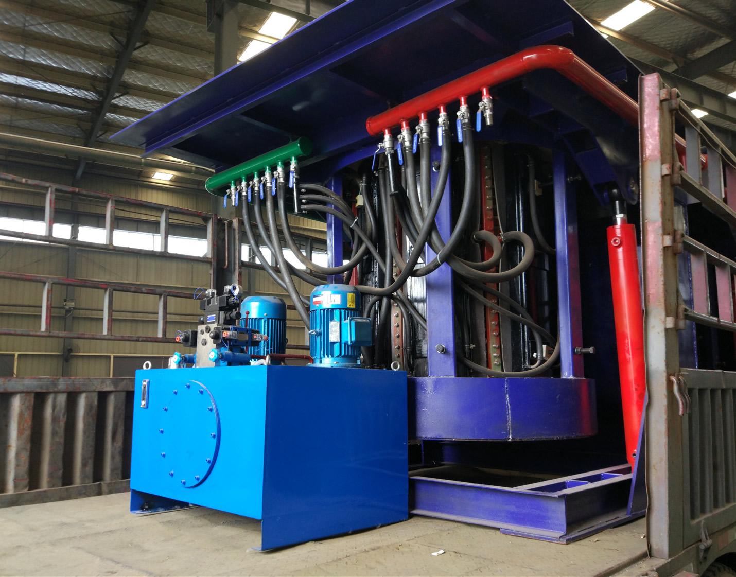 2 T induction melting furnace steel melting furnace