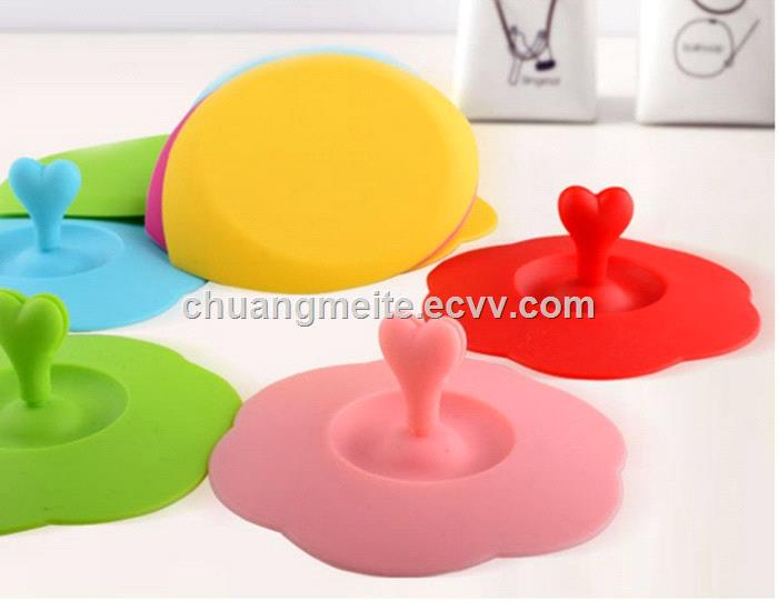 New style food grade promotional gifts silicone cup cover cups lid