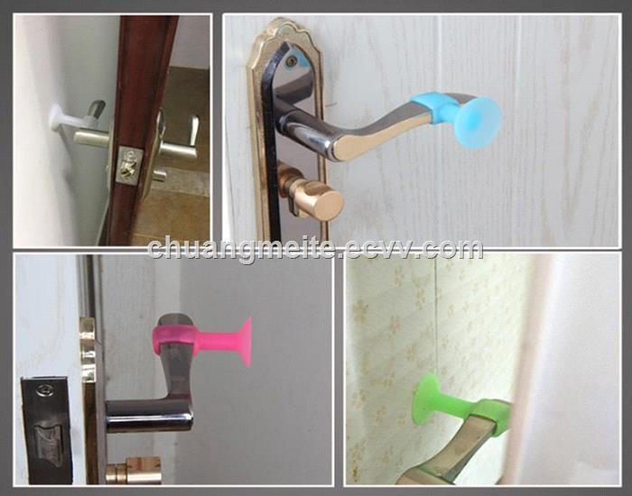 Ecofriendly silencer silicone door handle door accessories