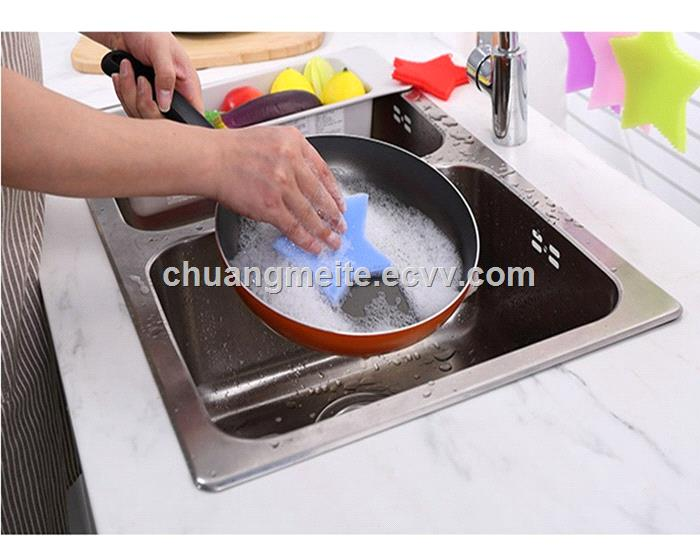Food grade dishwashing brush multifunction fruit vegetable cleaning silicone brush