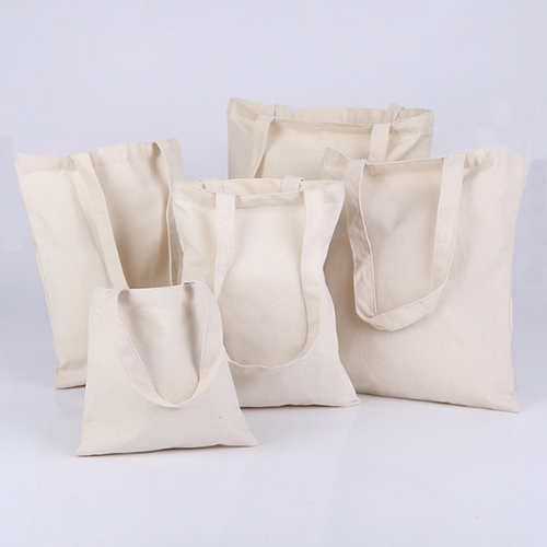 Custom Logo Promotional Tote Shopping Canvas Organic Cotton Bags