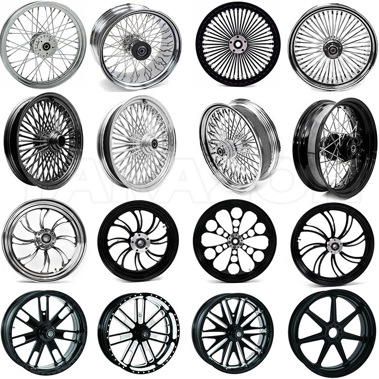 High Performance CNC Aluminum Alloy Forged Motorcycle Wheel